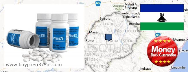 Де купити Phen375 онлайн Lesotho