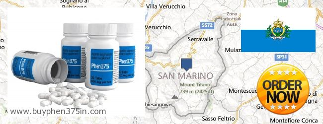 Where to Buy Phen375 online San Marino