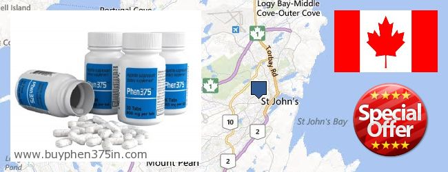 Where to Buy Phen375 online St. John's NL, Canada